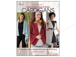 Books $3-$5 Clearance: Crochet Unconstructed Cardigans Book
