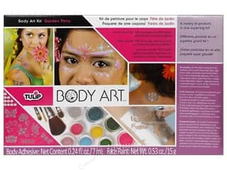 Weekly Specials Martha Stewart Stencils: Tulip Body Art Paint Kit Garden Party