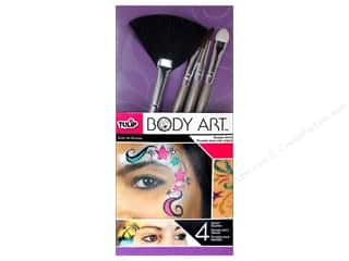 Tulip Body Art Brushes Detail 4pc