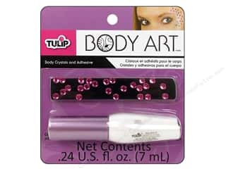 Tulip Body Art Crystal and Adhesive Pink