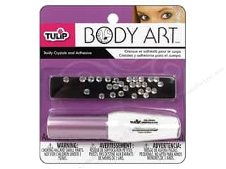 Tulip Body Art Crystal and Adhesive Aura Borealis
