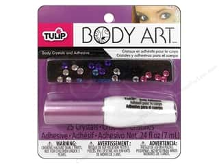 Glues/Adhesives Drawing: Tulip Body Art Crystal and Adhesive Multi