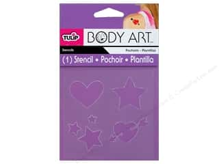 Hearts Art To Heart: Tulip Body Art Stencil Basics