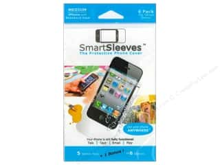 Page Protectors ClearBags Crystal Clear Bag: ClearBags SmartSleeves for iPhone 6 pc. Medium