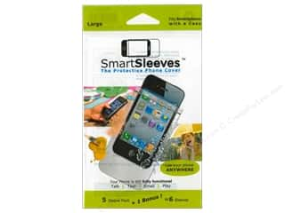 Page Protectors ClearBags Crystal Clear Bag: ClearBags SmartSleeves for Smartphones 6 pc. Large