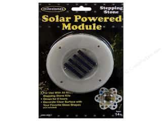 Milestones Powered Solar Module 4&quot; Round