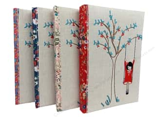 Stash By C&T Quilt Journal Tree Swing Assorted Book