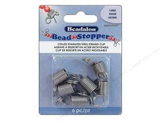 Beadalon scrimp: Beadalon Bead Stopper Large 6 pc.