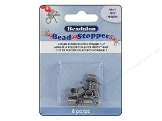 Beadalon scrimp: Beadalon Bead Stopper Small 8 pc.