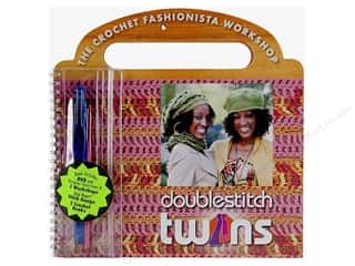 Hearts $10 - $64: Coats & Clark The Crochet Fashionista Workshop Kit DVD Book