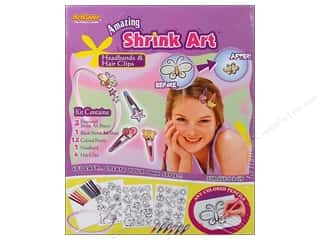 Darice ArtLover Kit Shrink Art Headbands