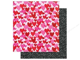 "American Crafts Paper 12""x 12"" XOXO All My Heart (25 piece)"