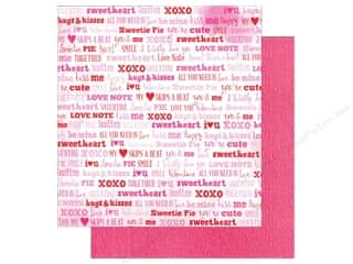 American Crafts Paper 12x12 XOXO Smitten (25 piece)