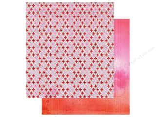 American Crafts Paper 12x12 XOXO Kiss (25 piece)