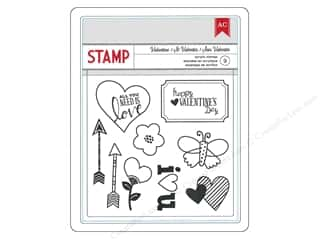 American Crafts Stamps Clear XOXO