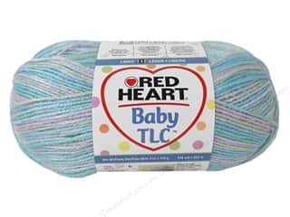 Polyester / Acrylic / Poly Blend Yarns: Red Heart Baby TLC Yarn 4oz Bunny 242yd