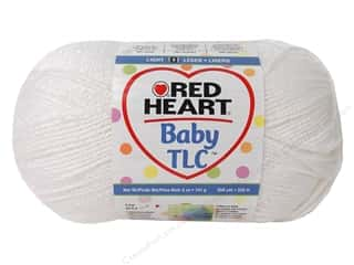 Yarn Children: Red Heart Baby TLC Yarn 5oz White 358yd