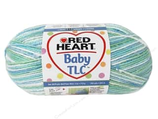 Clearance Red Heart Designer Sport Yarn: Red Heart Baby TLC Yarn #5934 Lovey 242 yd.