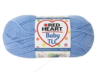 Yarn & Needlework Clear: Red Heart Baby TLC Yarn 5oz Clear Blue 358yd