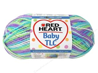 Clearance Red Heart Designer Sport Yarn: Red Heart Baby TLC Yarn 4oz Miami 242yd