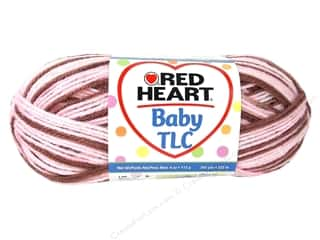 Hearts $4 - $6: Red Heart Baby TLC Yarn 4oz Neapolitan 242yd