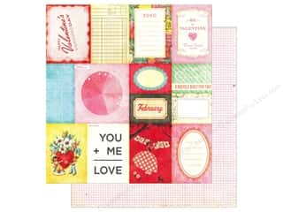 Paper Accents Hearts: Crate Paper 12 x 12 in. Paper Fourteen Accent Cuts (25 pieces)