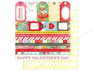 Tags Valentine's Day: Crate Paper 12 x 12 in. Paper Fourteen Tag Cuts (25 pieces)