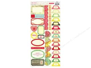 Tabs Clearance Crafts: Crate Paper Stickers Fourteen Borders/Tabs