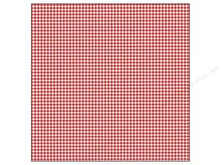 "Printing Translucent: We R Memory Washi Adhesive Sheet 12""x 12"" Red (12 pieces)"