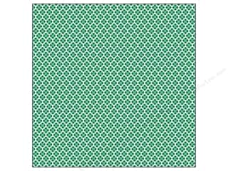 Weekly Specials Clover: We R Memory Washi Adhesive Sheet 12x12 Green (12 piece)