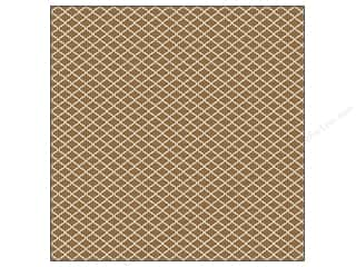 We R Memory Washi Adhesive Sheet 12x12 Brown (12 piece)