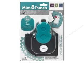 Scrapbooking Sale We R Memory Lucky 8 Punches: We R Memory Punch Mini 8 Snowflake