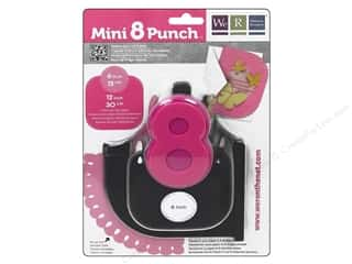 Scrapbooking Sale We R Memory Lucky 8 Punches: We R Memory Punch Mini 8 Scallop