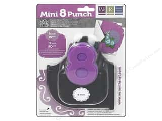 Scrapbooking Sale We R Memory Lucky 8 Punches: We R Memory Punch Mini 8 Flourish