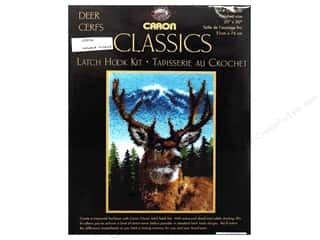 Caron Latch Hook Kit Classics 20x30 Deer