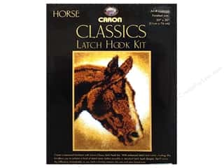 Caron Latch Hook Kit Classics 20x30 Horse