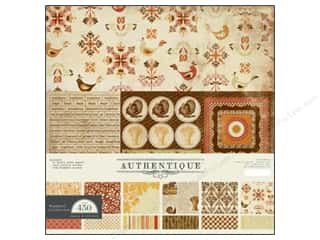 Weekly Specials Collection Kit: Authentique Collection 12&quot;x 12&quot; Thankful