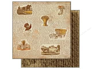 Authentique 12 x 12 in. Paper Thankful Remember (25 piece)