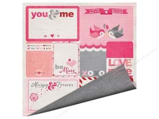 Imaginisce Valentine's Day Gifts: Imaginisce Paper 12x12 Love You More Love Notes (25 pieces)