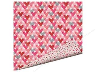 Imaginisce Paper 12x12 Love You More Heart Attack (25 piece)