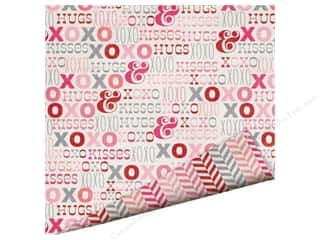 Imaginisce Valentine's Day Gifts: Imaginisce Paper 12x12 Love You More Hugs/Kisses (25 pieces)