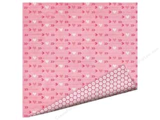 Love & Romance Valentine's Day Gifts: Imaginisce Paper 12x12 Love You More Cupid's Arrow (25 pieces)