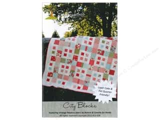 Sweet Jane Quilting Designs: Sweet Jane's Designs City Blocks Pattern