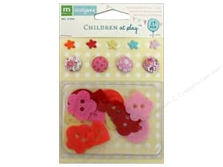 Star Thread Clearance Crafts: Making Memories Brads & Buttons Sarah Jane Girl