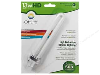 Brazabra Corp Sight Enhancers & Body Therapeutics: OttLite Replacement Bulb 13 Watt Tube Type E