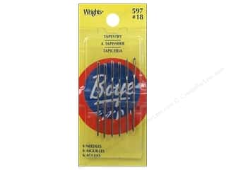 tapestry needle: Boye Accessories Needle #18 Tapestry 6pc