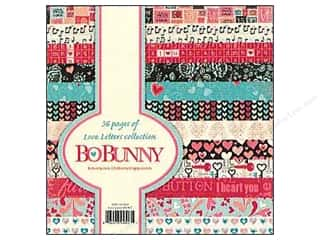 Bo Bunny Paper Pad 6x6 Love Letters
