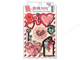 Bo Bunny Sticker Cardstock 3D Love Letters