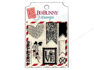 Bo Bunny Clear Stamps Love Letters