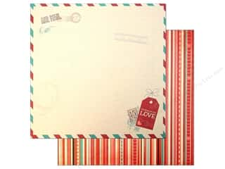 Bo Bunny Paper 12x12 Love Letters (25 piece)